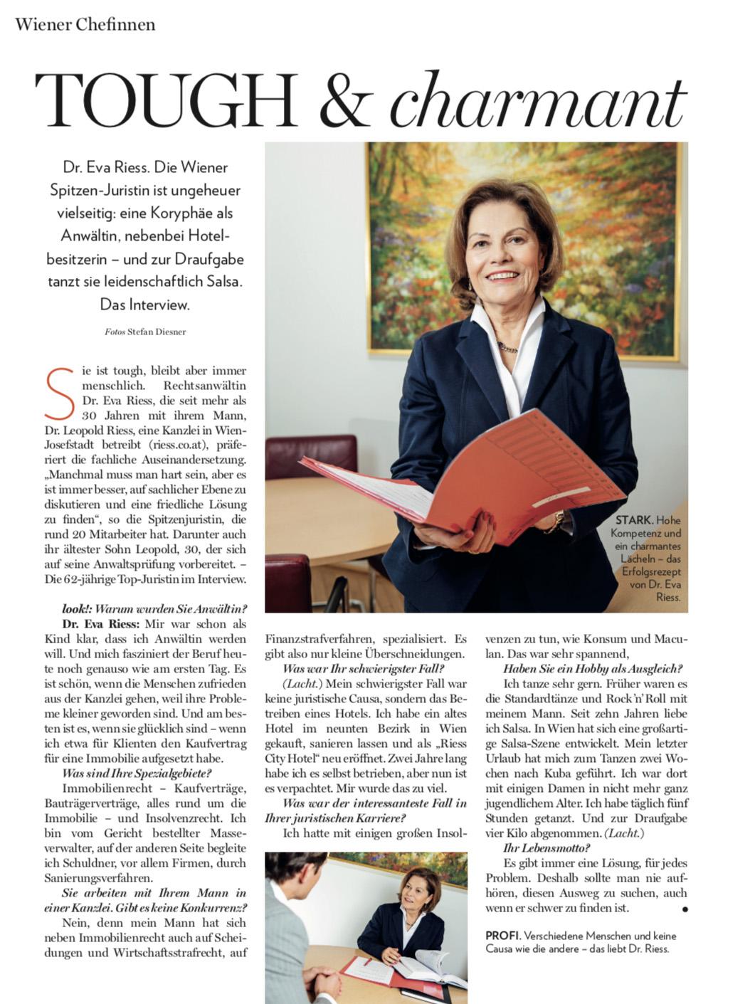 Dr. Riess Rechtsanwälte - LOOK! Business Magazin